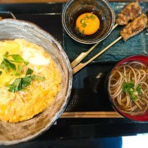 玉子丼,鴨料理