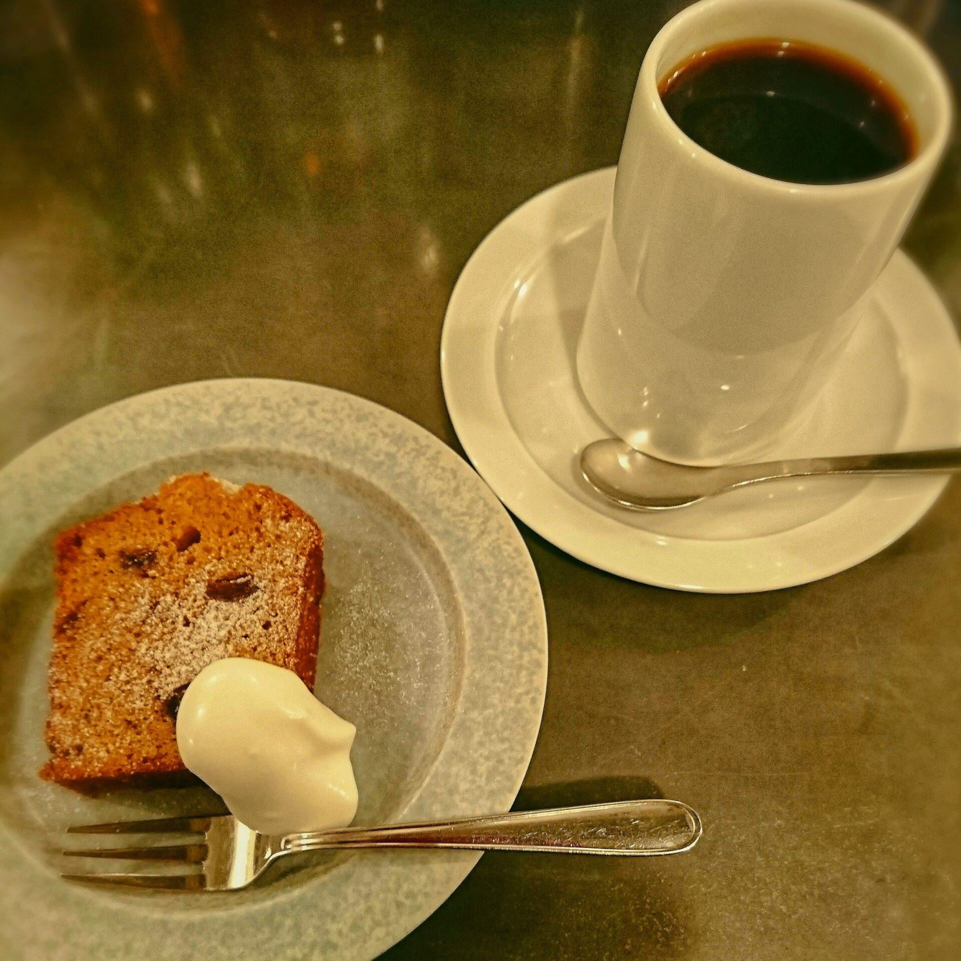 ケニアコーヒー,ラムレーズン,パウンドケーキ