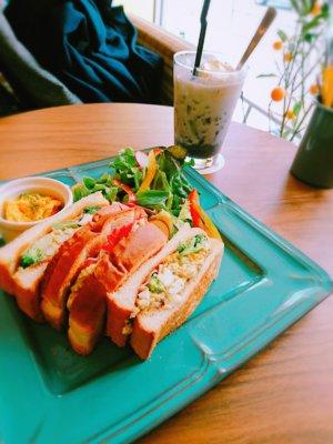 堀江カフェ,サンド