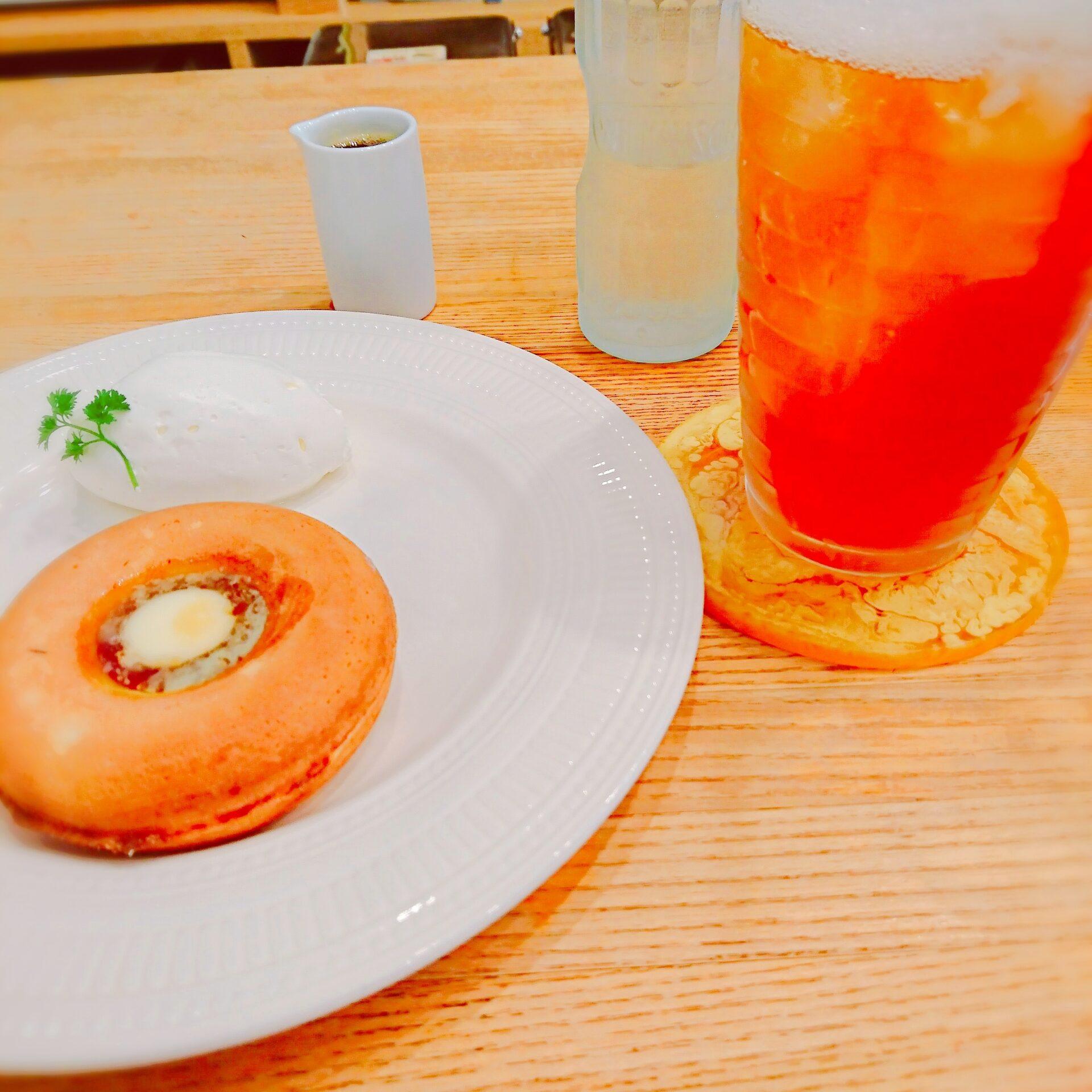 紅茶,パンケーキ