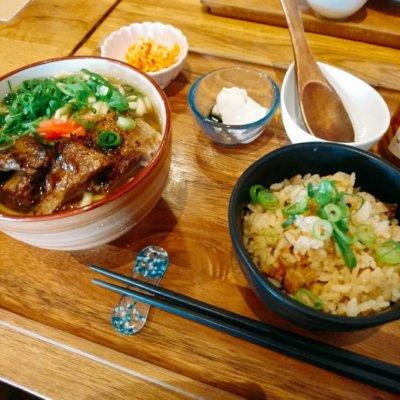 上本町,カフェ,ランチ