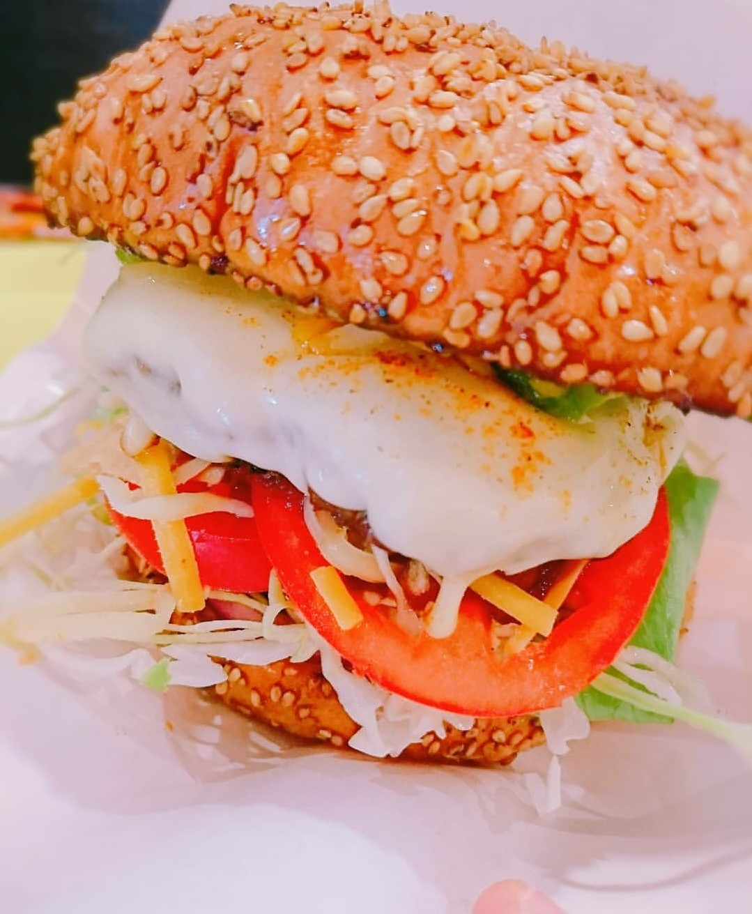 大阪,桜川,難波,ハンバーガー