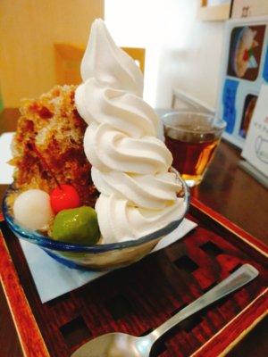 大阪,難波,カフェ,和菓子,難波地下街