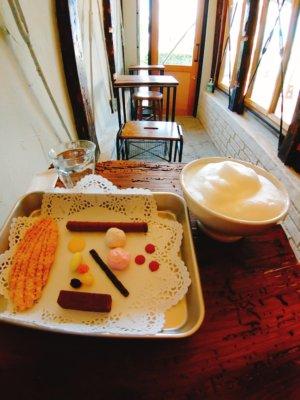 京都,三条,カフェ,スイーツ,世界